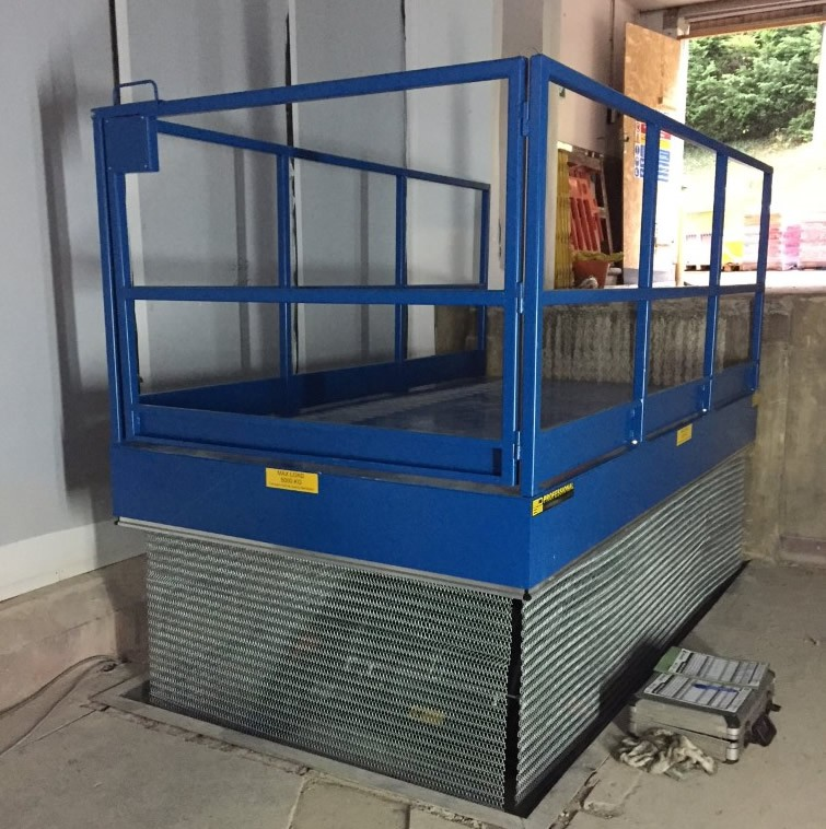 Loading Bay Goods Lift Somerset Swl 3000kg
