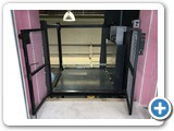 Upper Level Guarding Goods Lift