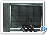 Galvanised Goods Lift Platform